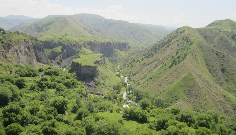 Landschaft in Armenien