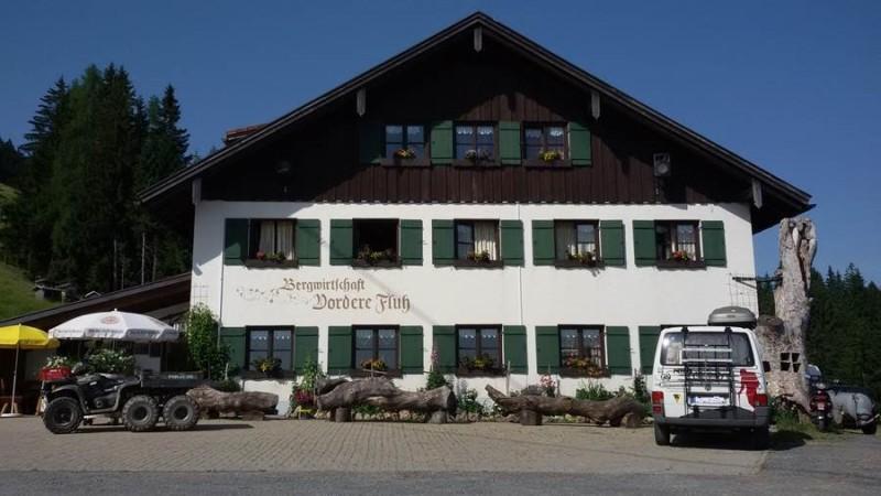 Berggasthof Vordere Fluh in Oberstaufen
