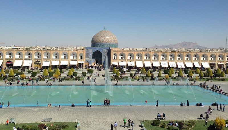 Imam Platz in Isfahan / Iran