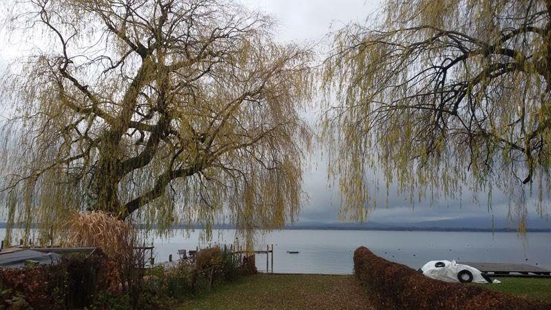 November auf der Fraueninsel im Chiemsee